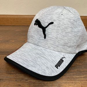 White and black Puma Baseball cap